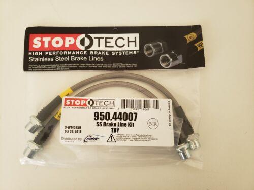 Stoptech Stainless Steel Braided FRONT Brake Lines Kit Toyota 4Runner 95-18 New