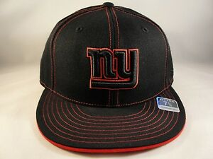4194cf44a65 NFL New York Giants Reebok Size 7 3 8 Fitted Hat Cap Black Red