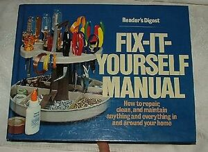 1980 readers digest fix it yourself manual 5th printing repair image is loading 1980 reader 039 s digest fix it yourself solutioingenieria Images