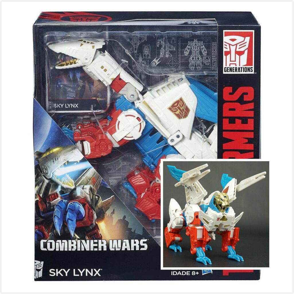 Regalo de transformadores generaciones combinador guerras IDW Voyager clase lince SKY infantil