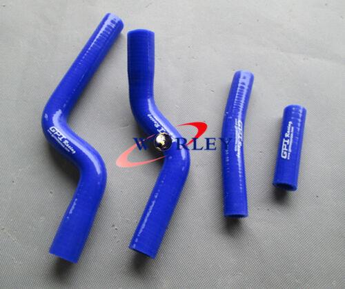 Radiateur en aluminium tuyaux en silicone Yamaha YZF250 YZ250F 07 08 09 2007 2008 2009