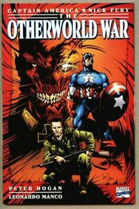 GN-TPB-Captain-America-Nick-Fury-The-Otherworld-War-nm-9-2-Marvel-Red-Skull
