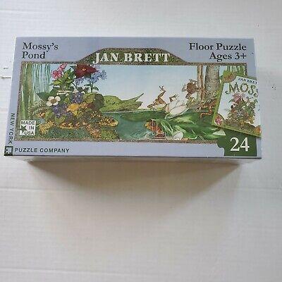 New York Puzzle Company 24 Piece Jigsaw Puzzle Jan Brett The Hat