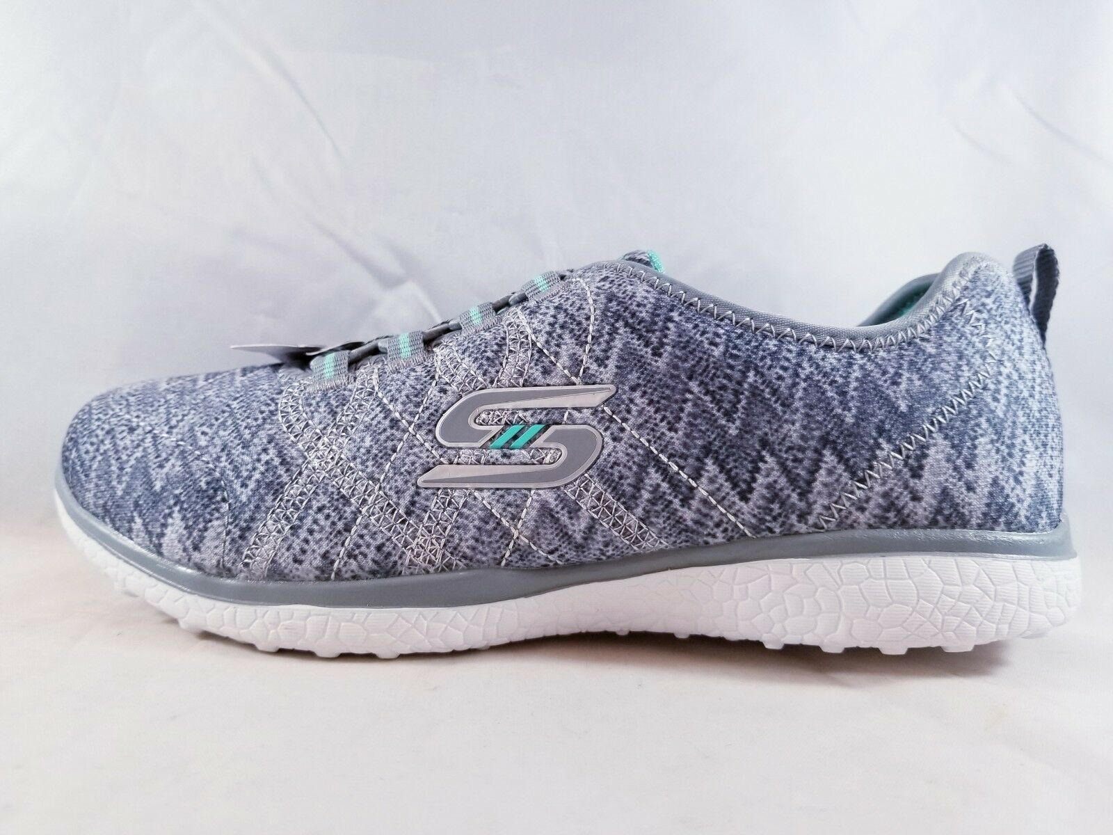 Skechers Microburst Fluctuate Women's Running Shoe 23304/GRY Size 5.5