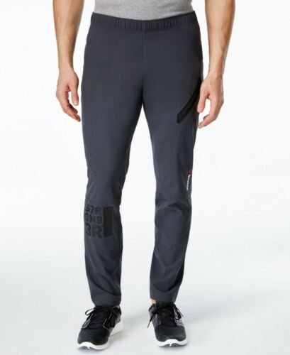 Men/' Reebok Crossfit One Series Woven Trackster Pants Special offer only £19.99