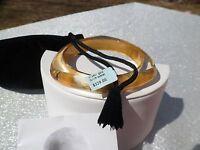 Charles Winston 24k Foil Resin Bangle Bracelet $329.00