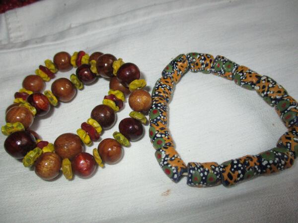 3 Folklore Armbänder,