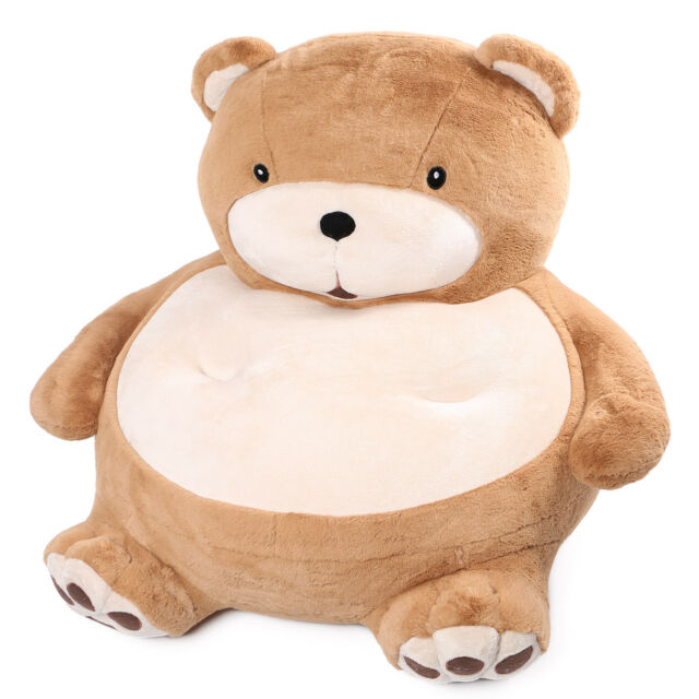 Brilliant Joyfay Soft Plush Teddy Bear Chair For Kids Giant 39 100Cm Brown Sofa Bean Bag Pabps2019 Chair Design Images Pabps2019Com