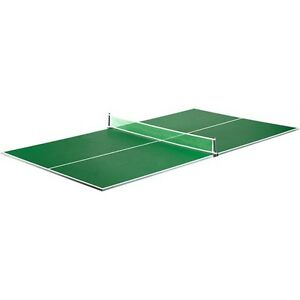 Details About Ping Pong Table Conversion Top Game Room Regulation Size  Table Tennis W Net