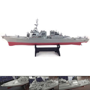 US-Navy-Guided-Missile-Destroyer-USS-Arleigh-Burke-DDG-51-Ship-Display-Model-Toy
