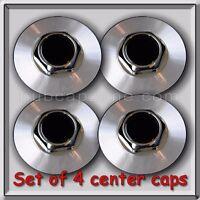 Set 4 Center Caps Hubcaps For 1991-1992 Chevy, Chevrolet Camaro Aluminum Wheels