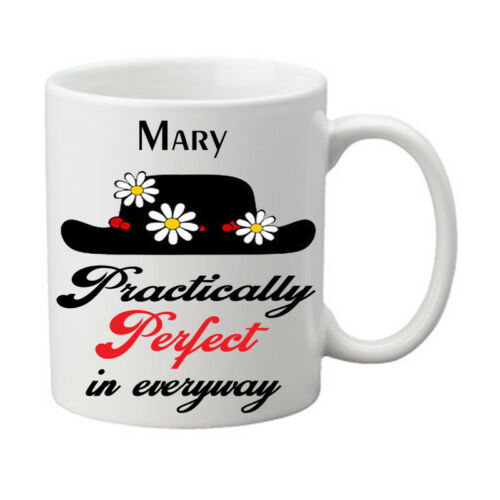 **PERSONALISED** Mary Poppins Mug Boxed Gift Stocking Filler Christmas Birthday