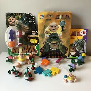 Disney-Dinosaurs-Lot-Sinclair-Family-Jim-Henson-Hasbro-McDonald-s-1990s