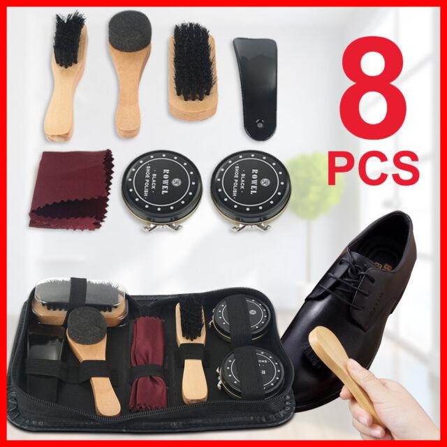 Loake Mens Shoe Care Kit Black