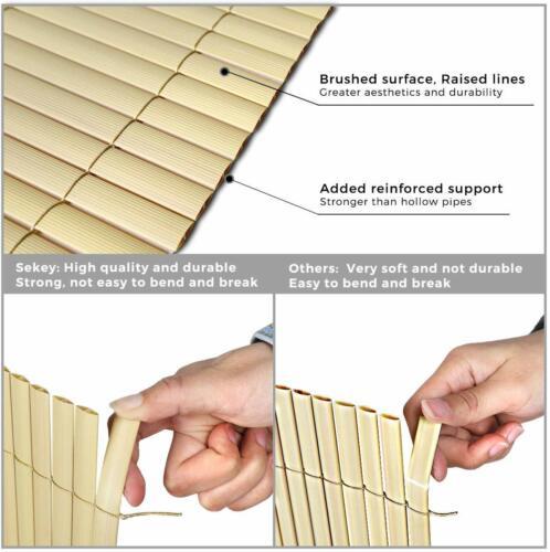 Pvc Privacy Protezione Visiva recinzione resistente alle intemperie privacy recinzione per giardino balcone