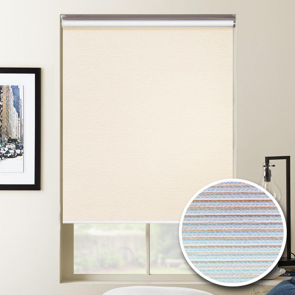 Ventana persianas rodillo de filtrado de luz soleado Tonos Pantalla Anti UV orden de encargo