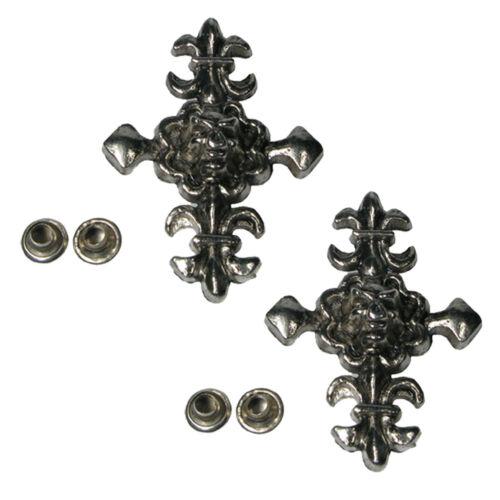 NUOVO Migliore Qualità Di Borchie in Metallo Rivetto nailheads per pelle artigianali Panno Scarpa Cintura