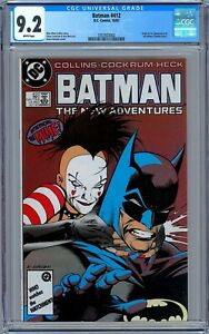 Batman #412 CGC 9.2 (Oct 1987, DC) Origin & First Appearance of the Mime.