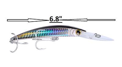 "4.73/"" TROLLING LURE BAIT TACKLE FISHING MACKEREL KING FISH TUNA MAHI MAHI JACK"
