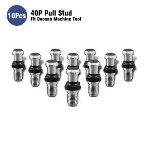 10Pcs-40P-Pull-Stud-Retention-Knob-Fit-Doosan-CNC-Machine-Tool-JIS-B6339-1998