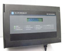 ALLEN BRADLEY BAR CODE DECODER 2755-DD1A-R1 SER B REV E w/ DISCRETE I/O MODULE