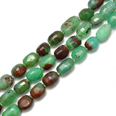 Green Garnet Faceted Rectangle Shape Size Approx 15x20mm 15.5/'/' Strand
