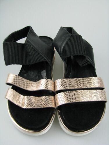 Daniel Hj8385 Gr 37 gold Sandale 1 Hechter Leder Damen Rose rC51rw