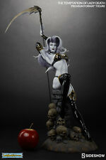 SIDESHOW THE TEMPTATION OF LADY DEATH PREMIUM FORMAT