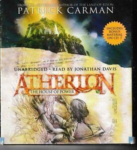 Atherton-The-House-of-Power-No-1-7-CD-Set-Unabridged-Patrick-Carman