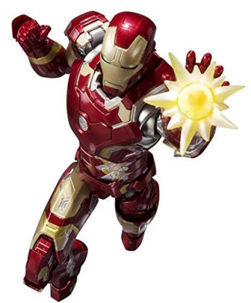 NEW S.H.Figuarts Iron Man Mark 43 Action Figure BANDAI TAMASHII NATIONS Japan
