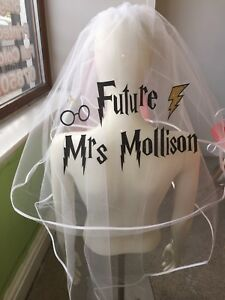 Personnalise-voile-Harry-Potter-Inspire-enterrement-vie-jeune-fille-imprime-scintillant-Bride-To-Be