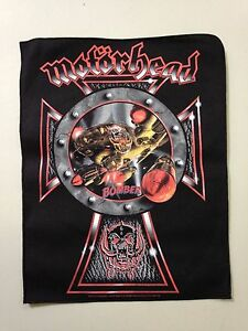 MOTORHEAD-BOMBER-BACK-PATCH-BRAND-NEW-MUSIC-BAND-810