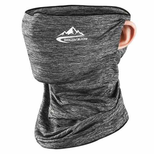 Cooling Neck Gaiter Tube Scarf Face Mask Bandana for Motorcycle Cycling US