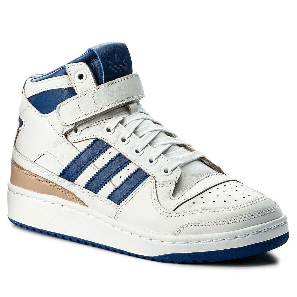 ADIDAS FORUM MID WRAP BLANC BLEU Baskets OG Unisex blanc Bleu OG Baskets Sneakers BY4412 d68531