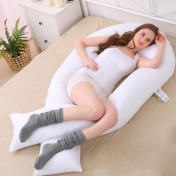 12 Ft (ca. 3.66 M) Big C-u Forma Full Body & Back Supporto Maternità Gravidanza Cuscino Comfort