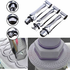 3PCS Stainless Steel Cake Lace Clip Fondant Clamp Crimper Decorating Cutter Mold