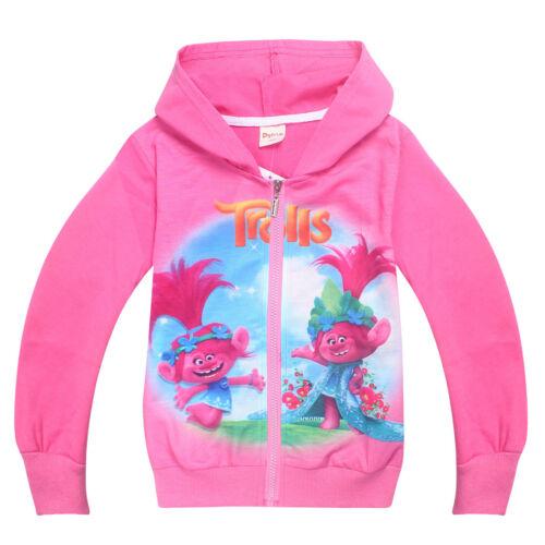Herbst Kinder Mädchen Kapuzenpullover Langarm  Hooded Sweatshirt