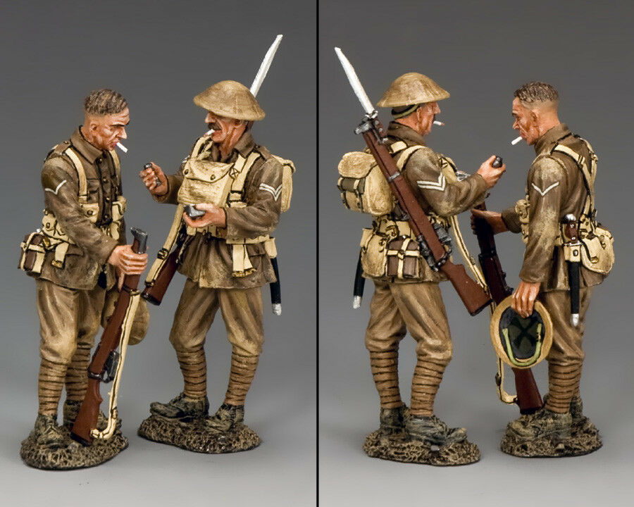 KING AND COUNTRY WWI British - Have a Smoke, Mate  FW220
