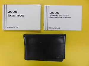 Equinox 08 2008 Chevrolet Owners Owner/'s Manual Set with Case OEM