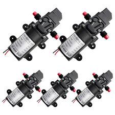 5x 12v Dc 60w Water Pressure Diaphragm Pump Self Priming Automatic Switch 100psi