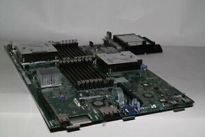 59Y3793 69Y4438 IBM MOTHERBOARD FOR X3550/X3650 W/ 2X E5620 QUAD CPU + HEATSINKS