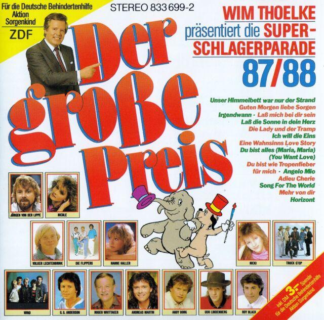 DER GROSSE PREIS - WIM THOELKE PRÄSENTIERT DIE SUPER SCHLAGER PARADE 87/88 / CD