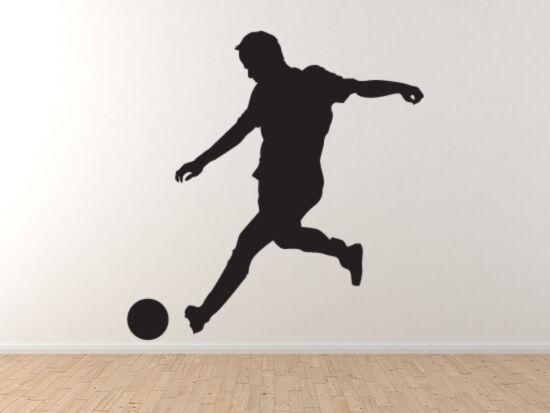 Sport Silhouette - Soccer Football Player Version 3 - Vinyl Wall Decal