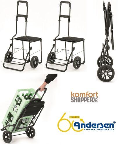 Andersen Komfort Shopper Gestell Einkaufswagen Einkaufstrolley Einkaufsroller