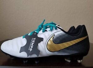sneakers for cheap ece99 221bf Details about 🔥NEW Nike Tiempo Legend VII Academy FG ESS ID White Soccer  Cleats Mens Sz. 8.5