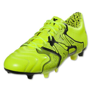 adidas-Men-039-s-X-15-1-FG-AG-Leather-Solar-Yellow-Black-B26979