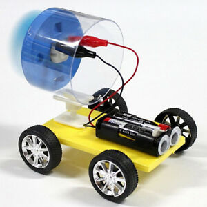 Kid-Diy-Wooden-Single-Wing-Wind-Car-Assembly-Model-Kit-Science-Experiment-Toy-I