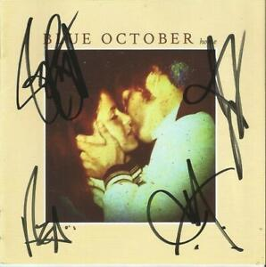 Blue-October-Autographed-Home-CD