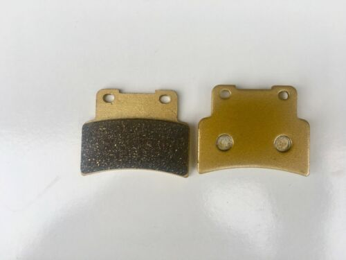 PERFORMANCE SINTERED GOLD FRONT BRAKE DISC PADS FOR YAMAHA YZF-R125 2014-2018