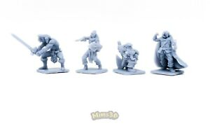 NEW-EXCLUSIVE-DESIGN-Minis3D-Rep-Heroquest-Remake-F-Schizzo-Heroes